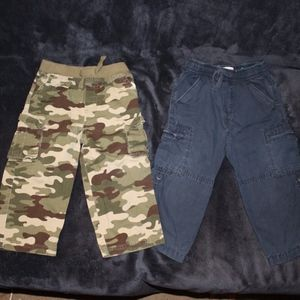 Other - 3 for $15 - Boy's Cargo Pants - 24 months